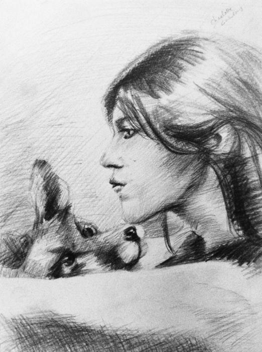 Charlotte Gainsbourg por Lolochou